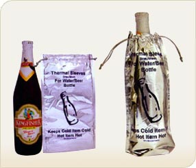 Thermal Bag for Water or Beer Bottles
